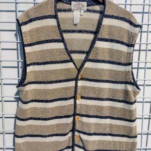 Giorgio Armani sleeveless knit sweater vest